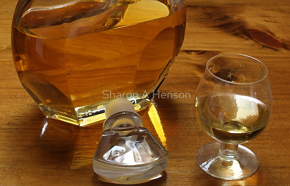 GLASS OF PORT by Sharon A. Henson