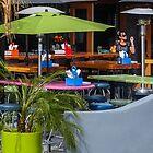 Cafe color by Linda Sparks