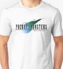 Final Pokemon Fantasy VII T-Shirt
