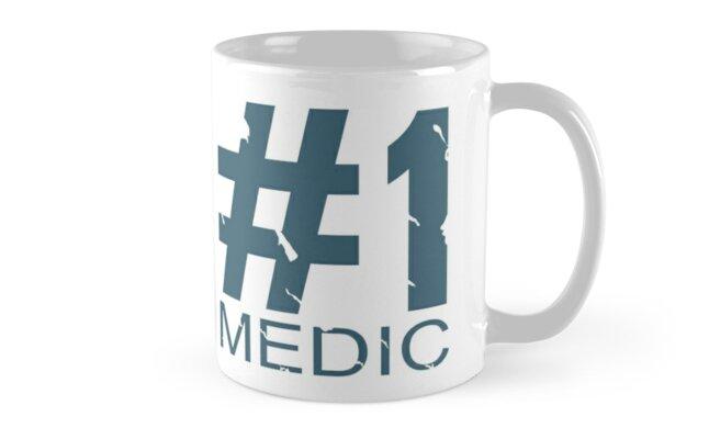 Medic Mug Design (BLU) by Ilona Iske