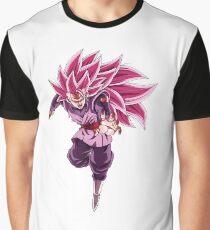 Goku Black Super Saiyan Rose 3 Graphic T-Shirt