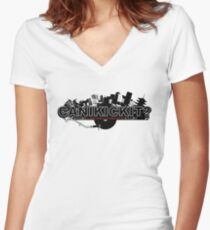 CAN I KICK IT? - City Women's Fitted V-Neck T-Shirt