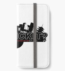 CAN I KICK IT? - City iPhone Wallet/Case/Skin