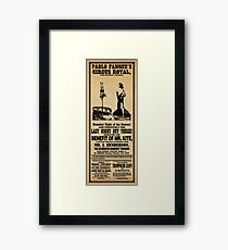 Being for the Benefit of Mr. Kite Framed Print