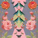 Love Birds (gray version by sandra arduini