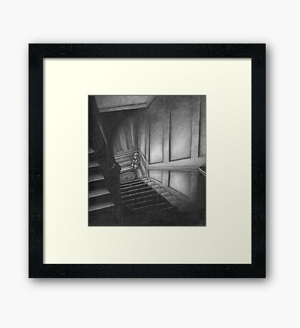 Lonely at the Bottom Framed Print
