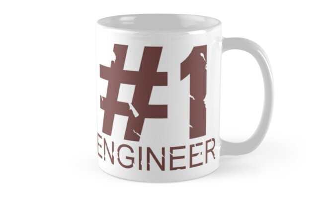 Engineer Mug Design by Ilona Iske