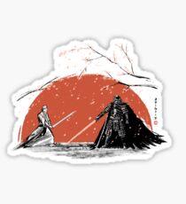 Sakura Showdown Sticker
