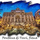 Lorenzo Bernini, Fountain of Trevi, Rome by romansart