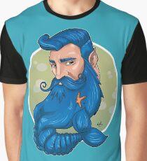 Merman Beard Graphic T-Shirt
