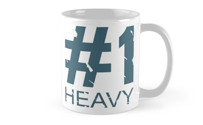 Heavy Mug Design (BLU) by Ilona Iske