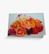Garden of roses Greeting Card