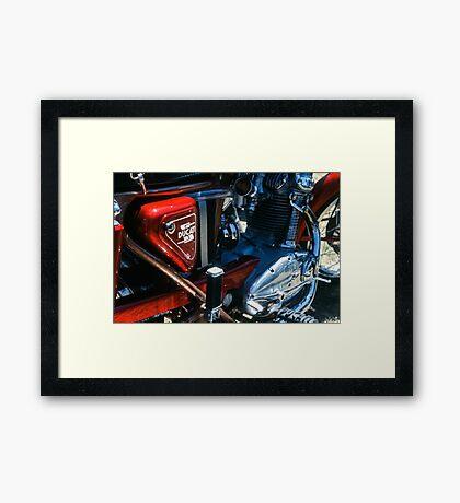 Classic Duke Framed Print
