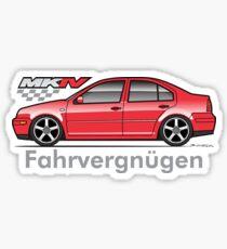 MK4 Red Jet Sticker