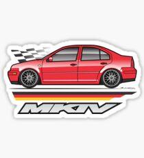 MK4 Red Jet2 Sticker