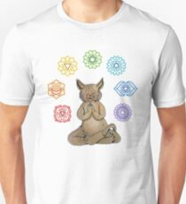 Yoga Cat with Chakras T-Shirt