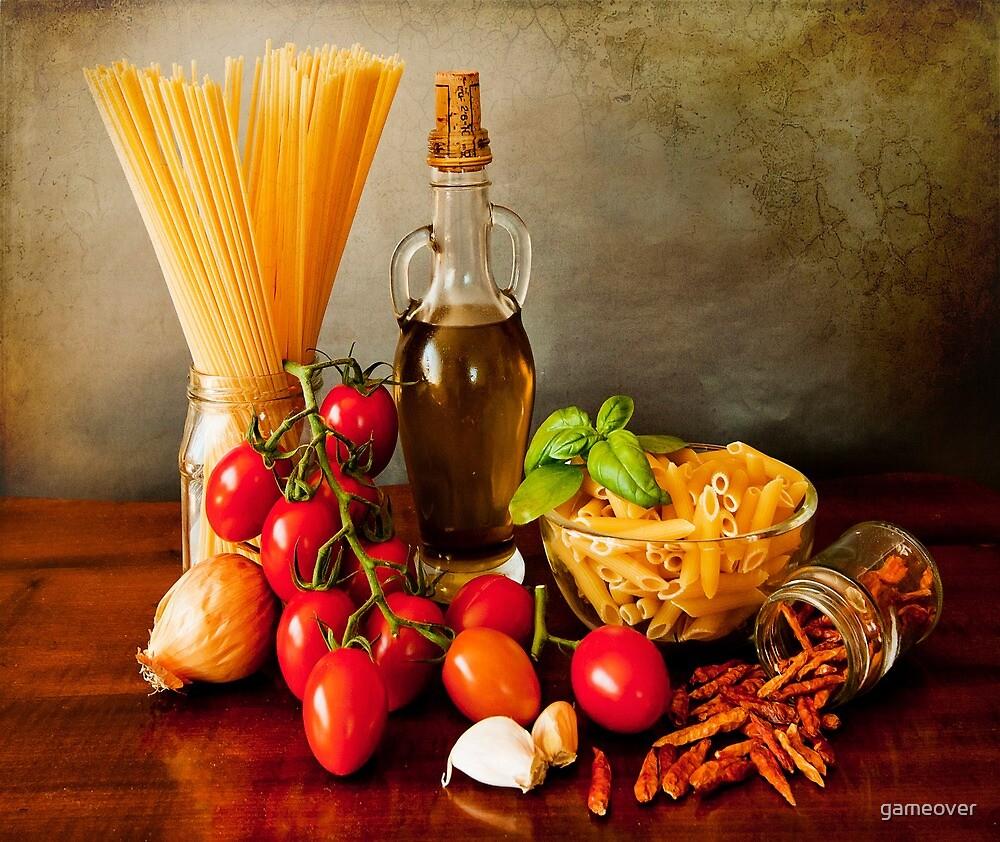 Italian pasta, arrabbiata sauce recipe by gameover