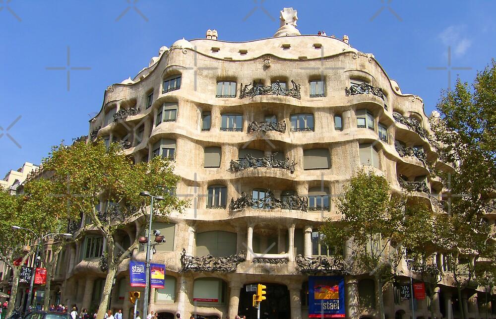 Casa Milà by Tom Gomez