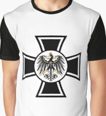 Prussian Eagle Cross Graphic T-Shirt