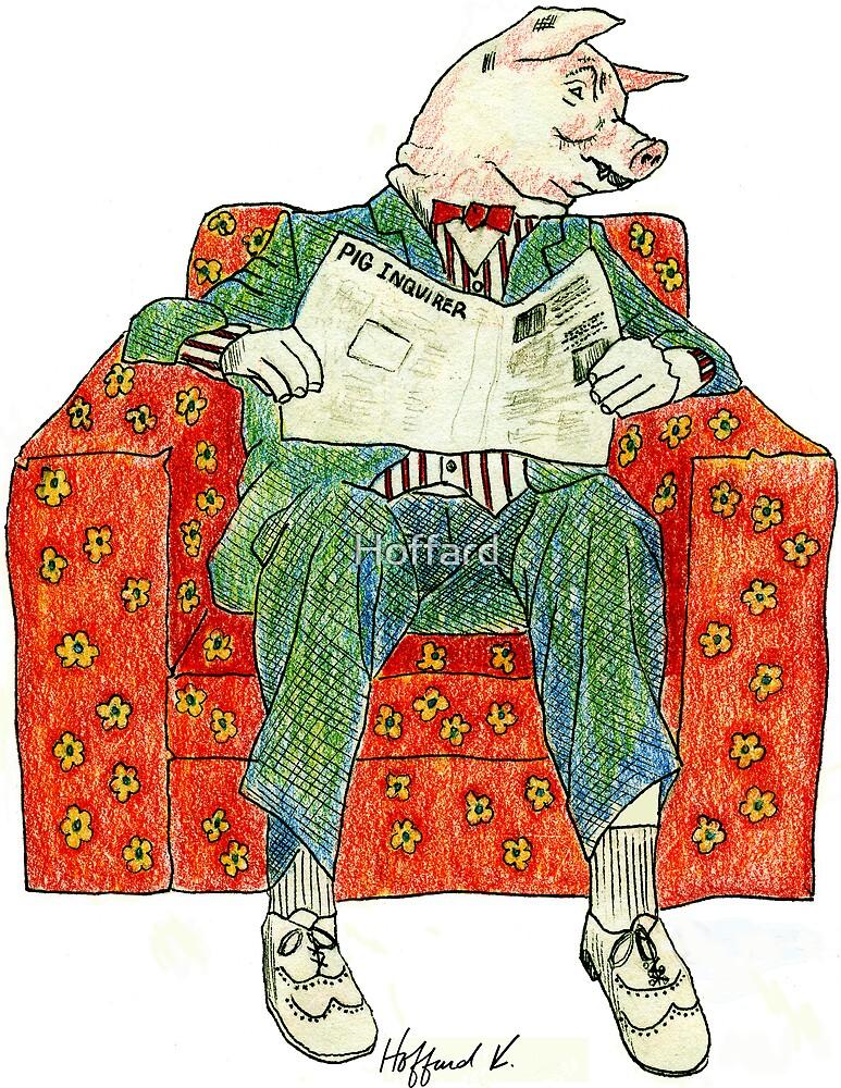 Pig Inquirer by Hoffard