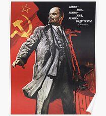 Lenin-Plakat 1967 Poster