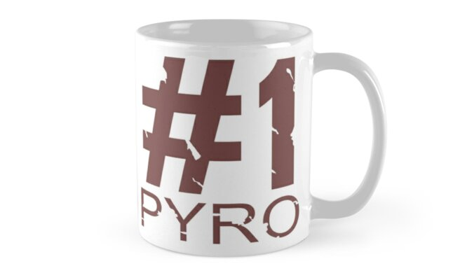 Pyro Mug Design by Ilona Iske