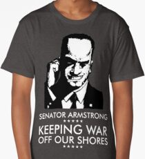 Senator Armstrong Presidential Campaign - Metal Gear Rising: Revengeance Long T-Shirt
