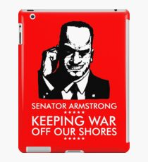 Senator Armstrong Presidential Campaign - Metal Gear Rising: Revengeance iPad Case/Skin
