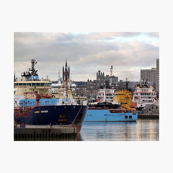 Aberdeen Harbour 2 Photographic Print