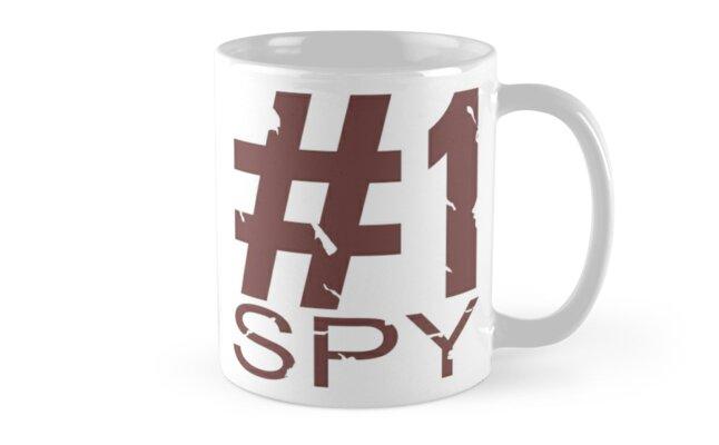 Spy Mug Design by Ilona Iske
