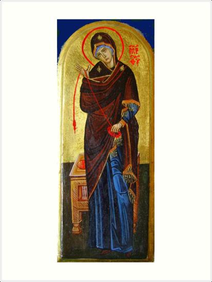 Virgin Mary by Ivana Vuckovic