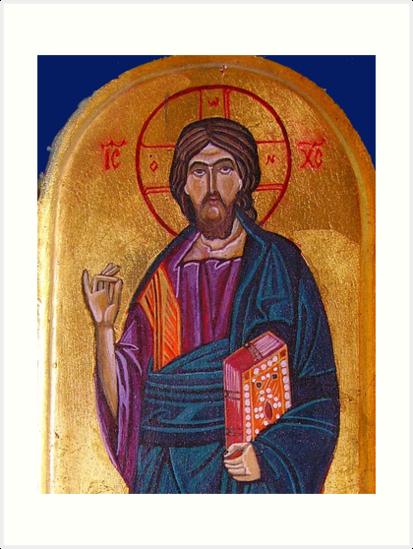 Jesus Christ, detail by Ivana Vuckovic