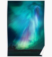 Schöne Nordlichter Poster