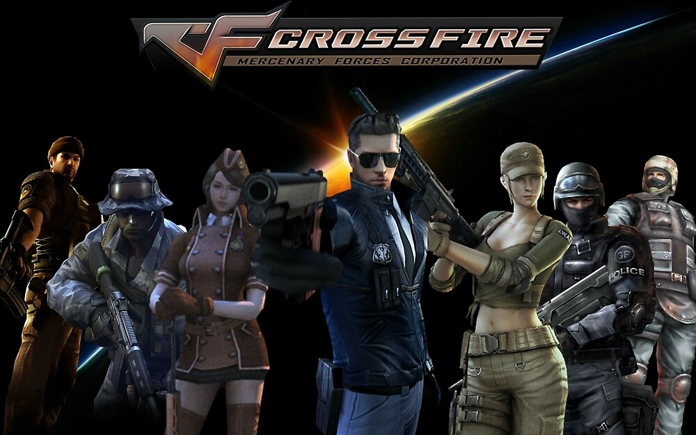 CrossFire by Blocks54