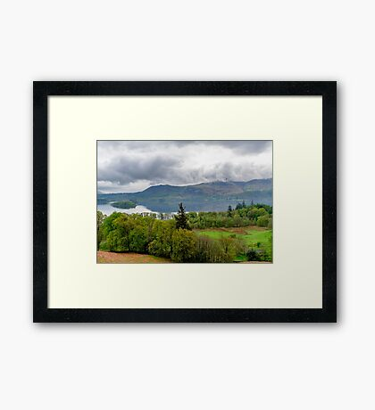 Derwentwater Lake District Framed Print