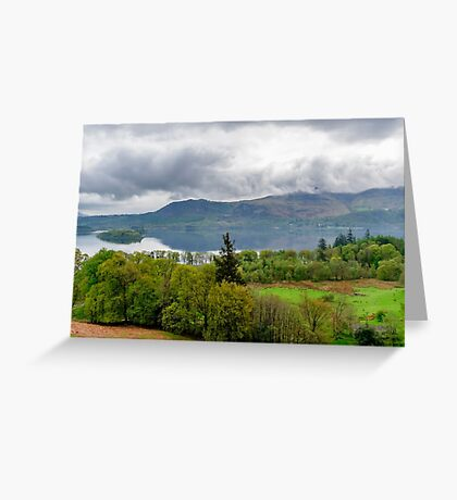 Derwentwater Lake District Greeting Card