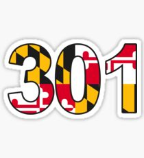 301- Maryland Sticker