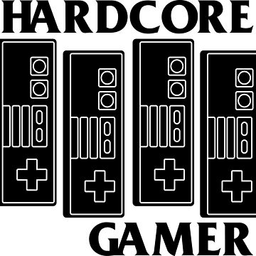 HARDCORE GAMER by refritomix