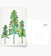 Pine Trees – Green Palette Postcards