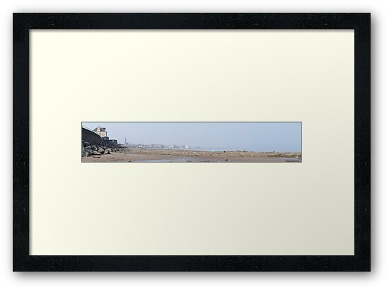 Portobello Beach Panoramic by Alan Whyte