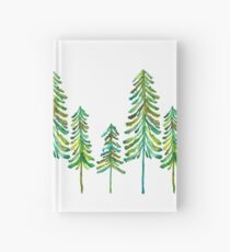 Pine Trees – Green Palette Hardcover Journal