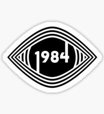 Auge sehen Sie (1984) Sticker