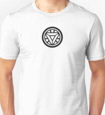 Mini Black Arc Reactor Unisex T-Shirt