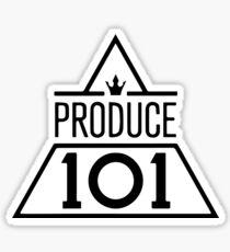 Produce 101 Grey F Sticker