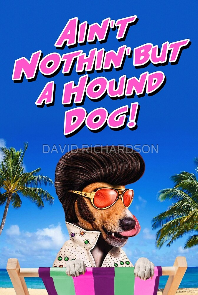 Ain't Nothin' But a Hound Dog by DAVID RICHARDSON