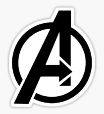 The Avenger Logo Sticker