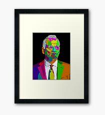 Bill Murray - AR design Framed Print