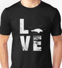 Love Manatee - Lovely Animal T-Shirt Unisex T-Shirt