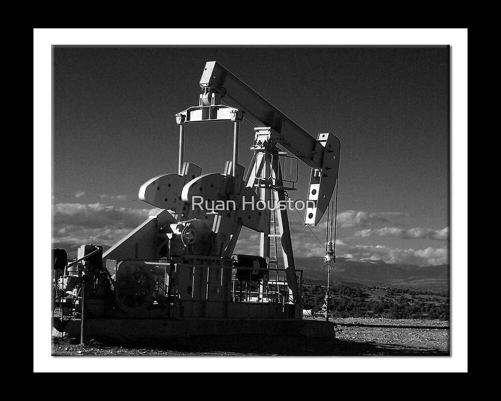 Infrared Oil Pump - Northeastern Utah by Ryan Houston