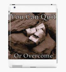 Overcome iPad Case/Skin